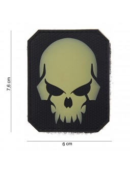 PATCH 3D PVC PIRATE SKULL