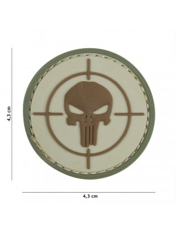 PATCH 3D PVC PUNISHER SIGHT