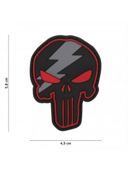 PATCH 3D PVC PUNISHER THUNDER