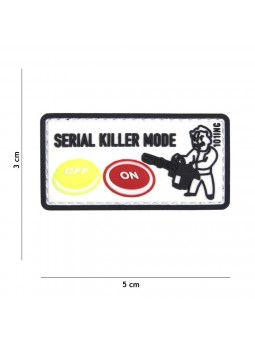 PATCH 3D PVC SERIAL KILLER
