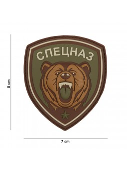 PATCH 3D PVC SPETSNAZ BEAR