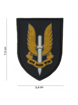 PATCH 3D PVC WHO DARES WINS
