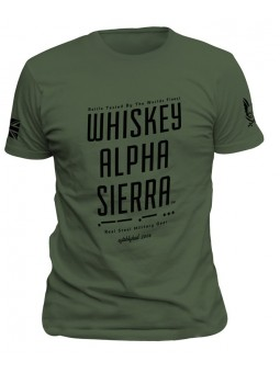 Tričko WHISKEY ALPHA SIERRA...