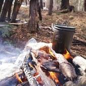 Čas na kávu? #kava #coffee #coffeetime #helikontex #campcup #outdoorlife #camplife #bushcraft #bushcraftcooking #priroda #zalesactvo