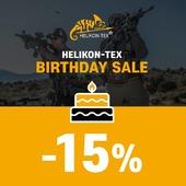 Víkendová zľava -15% na všetky produkty Helikon-Tex! Oslávte narodeniny tejto skvelej značky a využite zľavu na nákup.