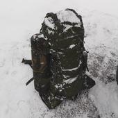 Tasmanian Tiger Range Pack MK. II počas víkendového pochodu :) #ironlegion #tasmaniantiger #rangepack #military #outdoor #gear #backpack #winter #snow #frozen